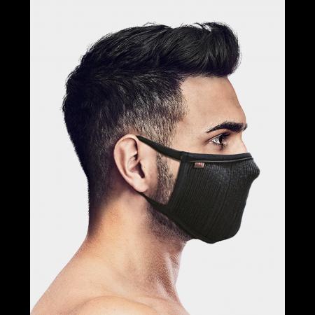 Masca pentru sportivi Naroo FU+ cu filtrare particule Negru