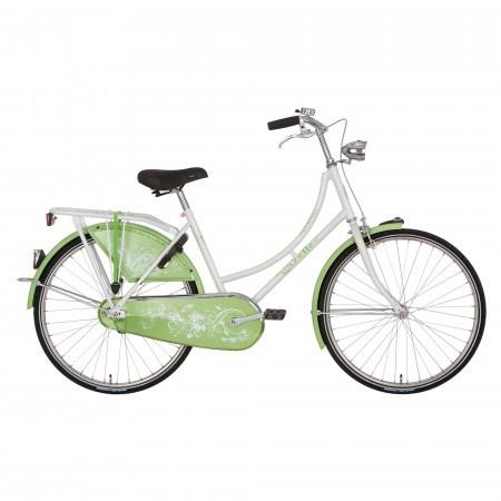 Bicicleta verde/portocalie Gazelle Madelief 24