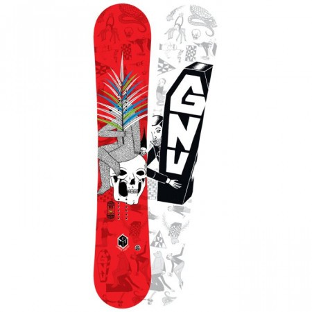 Snowboard Gnu Carbon Credit Club Collection BTX 2016
