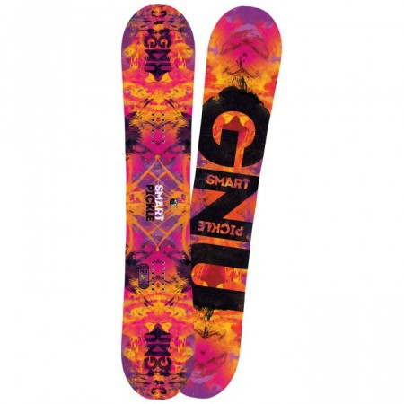 Snowboard Gnu Ladies Smart Pickle Asimetric BTX 2016