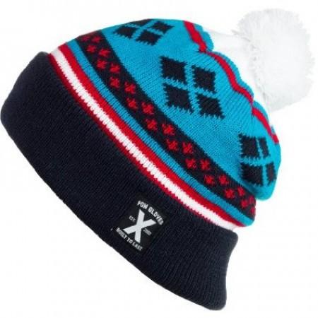 Caciula POW Hippy Knit Blue