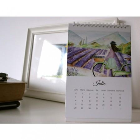 Velo-calendar 2014 de birou