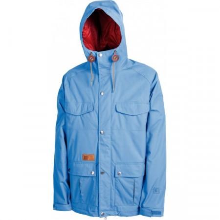 Jacheta snowboard L1 FOLKLORE cobalt blue