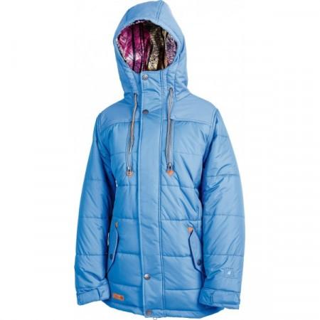 Jacheta snowboard L1 TAMARYN PARKA cobalt blue