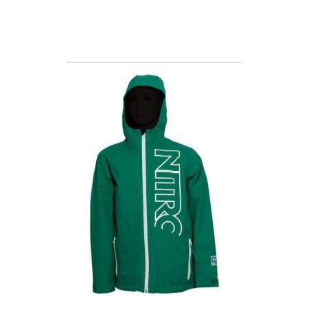 Jacheta snowboard Nitro BOYS WHITE RIOT green