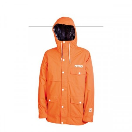 Jacheta snowboard Nitro ROCKET orange