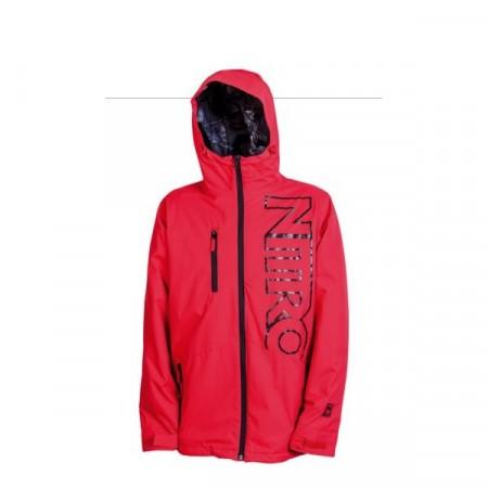 Jacheta snowboard Nitro WHITE RIOT red