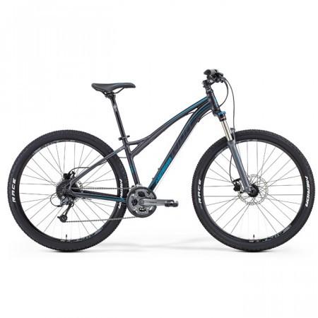 Bicicleta de munte pentru femei Merida Juliet 7. 300 Antracit/Albastru 2015