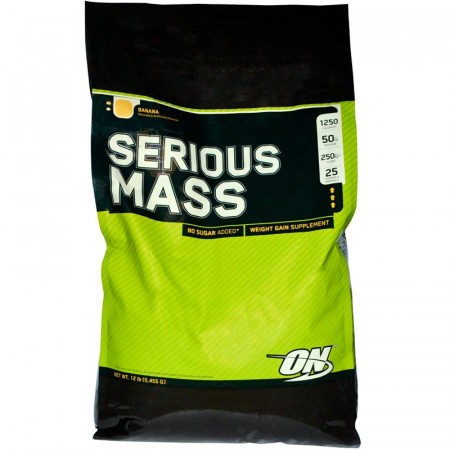 Serious Mass - Chocolate 12 lbs