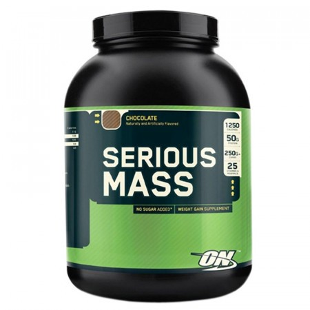 Serious Mass - Chocolate 6 lbs