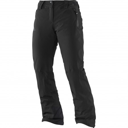 Pantaloni femei Salomon Iceglory Negru