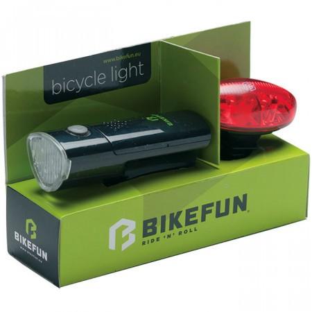 Set Far+Stop Bikefun Link Set Negru