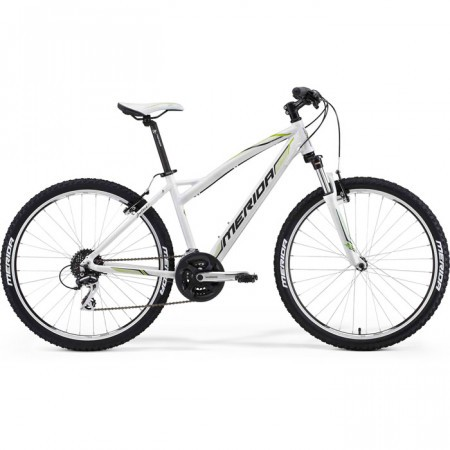 Bicicleta MERIDA 2013 JULIET 20-V ALB GRI/VERDE TEAM
