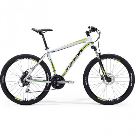 Bicicleta MERIDA 2013 MATTS 40-MD ALB NEGRU/VERDE