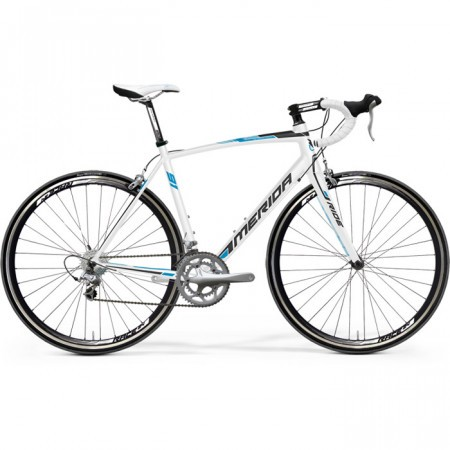 Bicicleta MERIDA 2013 RIDE LITE JULIET 91 ALB (NEGRU/ALBASTRU CYAN)