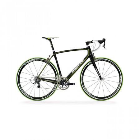 Bicicleta MERIDA 2013 SCULTURA COMP 906 NEGRU MAT/UD CARBON(VERDE)