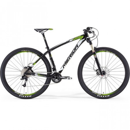 MERIDA 2014 BIG.NINE TEAM ISSUE NEGRU ALB VERDE