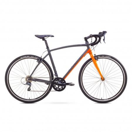 Bicicleta de oras Romet MISTRAL CROSS Grafit-Portocaliu 2017