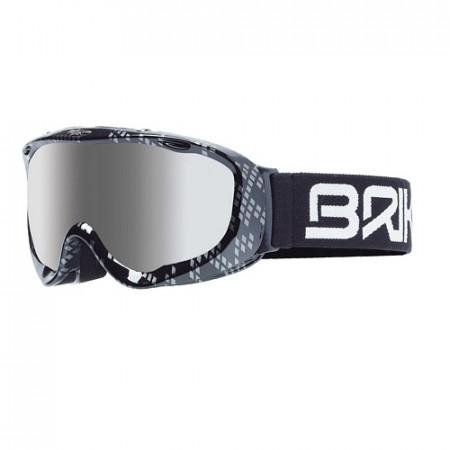 Ochelari BRIKO Gunner Plus Shiny Black Silver
