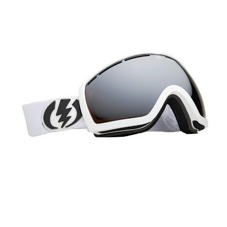 Ochelari Ski ELECTRIC EG2.5 Gloss White (Bronze/Silver Chrome)