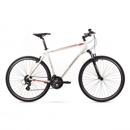 Bicicleta de trekking Romet ORKAN 2M Alb 2016