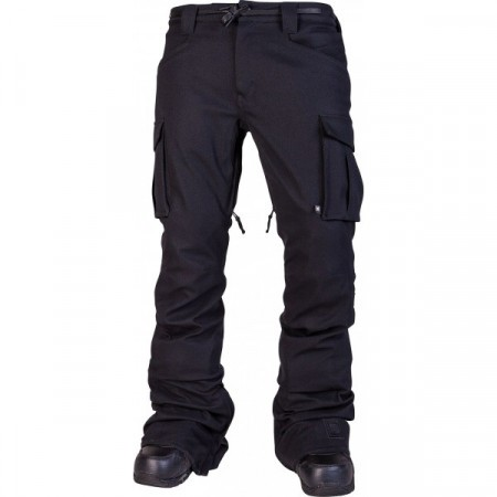 Pantaloni snowboard L1 SKINNY CARGO black