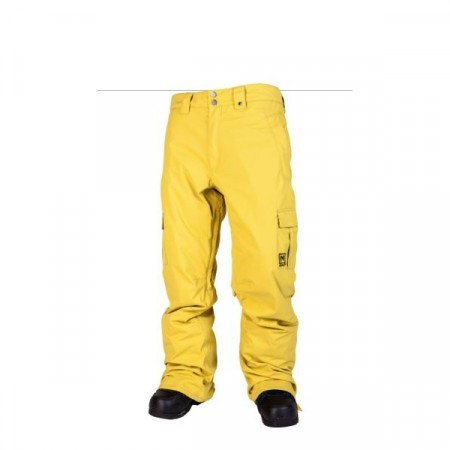 Pantaloni snowboard Nitro DECLINE lime
