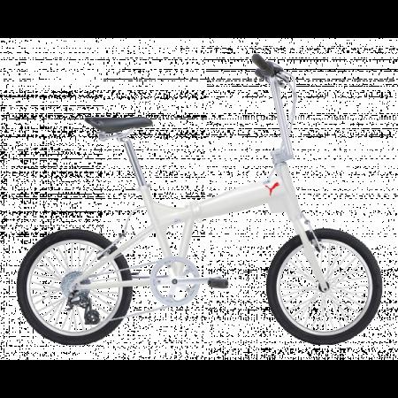 Bicicleta Puma Pico pliabila Alb