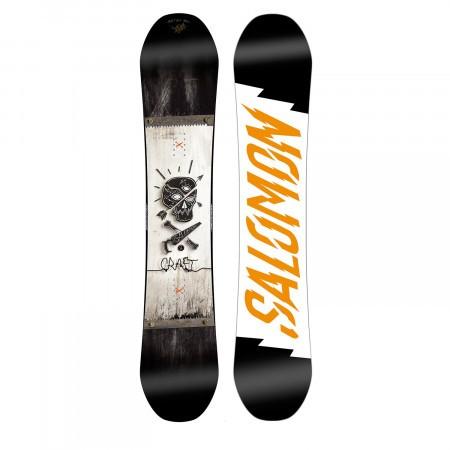 Placa Snowboard Salomon Craft Negru/Alb/Galben