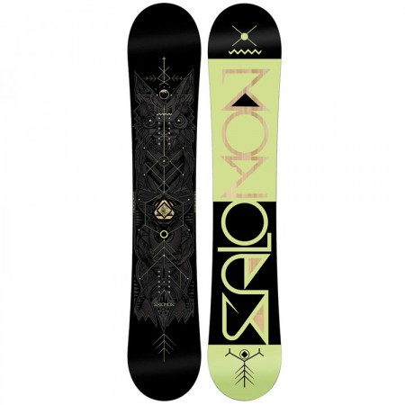 Placa Snowboard Salomon Sight Negru/Verde