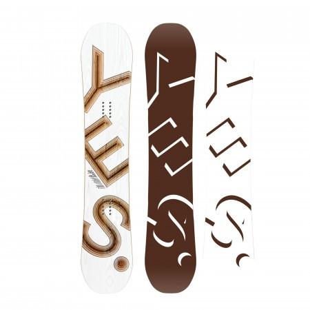 Placa snowboard True Twin Barbati pentru All Mountain YES Basic 2020