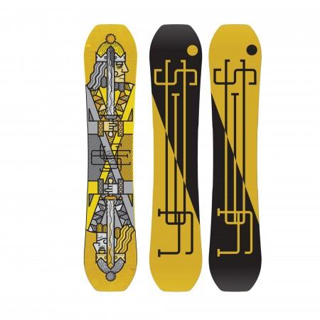 Placa snowboard True Twin Barbati pentru Park and pipe YES Jackpot-V2 2020