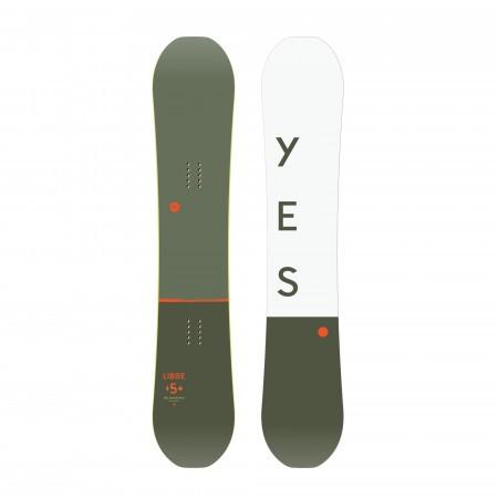 Placa snowboard Directional Twin Barbati pentru Resort freestyle YES Libre 2020