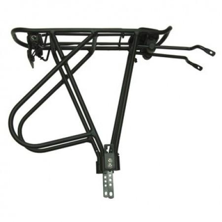 Portbagaj BikeFun Multirack 24-28 reglabil aluminiu negru