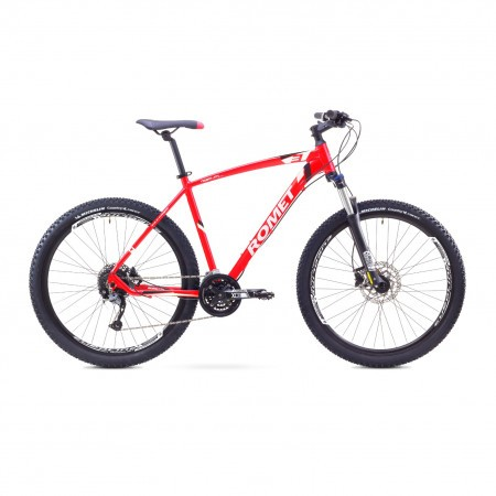 Bicicleta de munte Romet RAMBLER 27.5 3 Rosu-Alb 2017