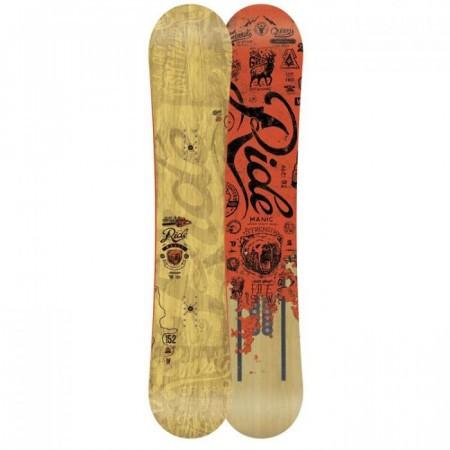 Snowboard Ride Manic 2014