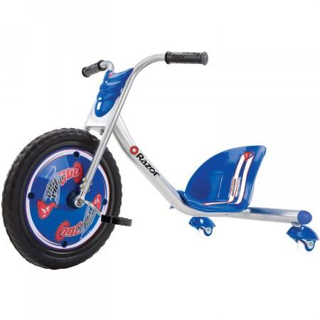 Tricicleta pentru drifturi Razor RipRider 360 Argintiu/Albastru