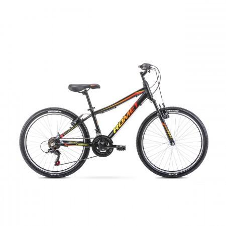 Bicicleta pentru copii Rambler 24 Negru 2020