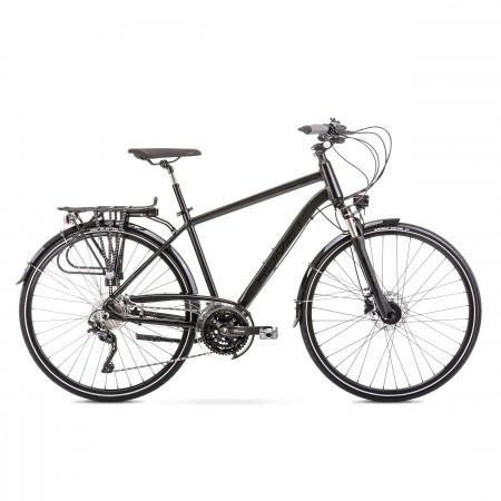 Bicicleta de trekking/oras pentru barbati Wagant 10 Negru 2020