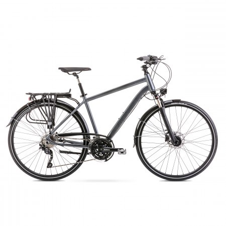 Bicicleta de trekking/oras pentru barbati Wagant 9 Gri 2020