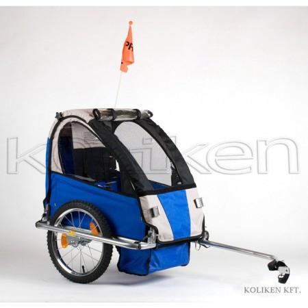 Rulota bicicleta acoperita