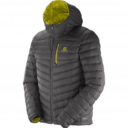 Salomon Halo Hooded Jacket M Gri