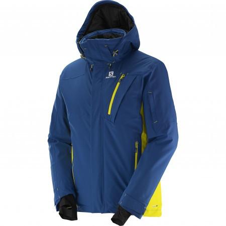 Salomon Iceglory Jacket M Albastru