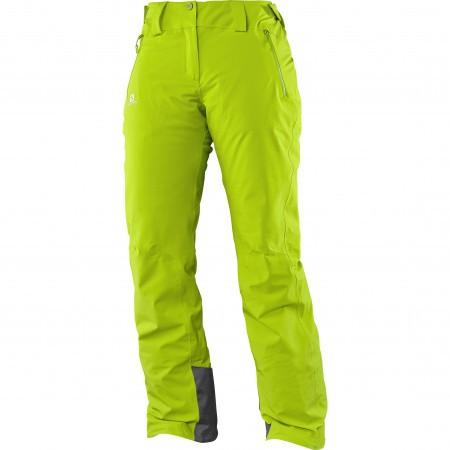 Salomon Iceglory Pant W Verde