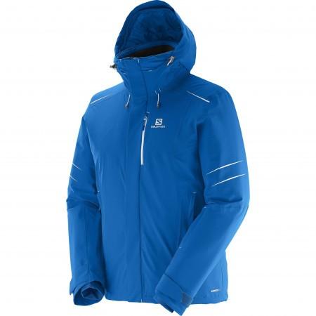Salomon Icestorm Jacket M Albastru