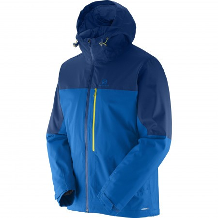 Salomon La Cote Insulated Jkt Albastru M