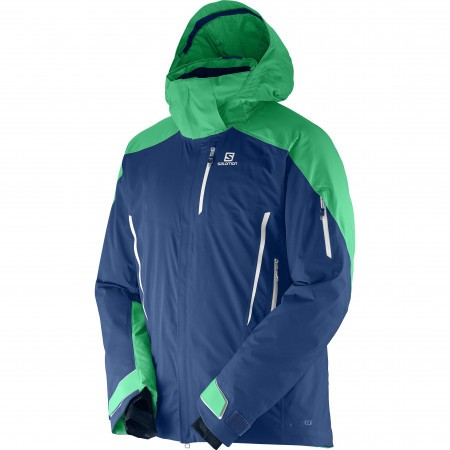 Salomon Whitecliff GTX Jacket M Albastru