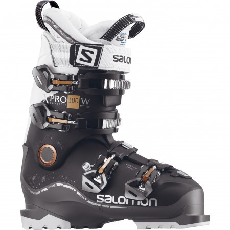 Clapari ski femei Salomon X Pro 100 Negru