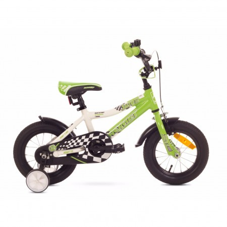 Bicicleta pentru copii Romet SALTO 12 Alb-Verde 2018