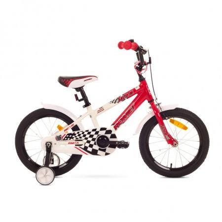 Bicicleta pentru copii Romet SALTO P 16 Alb-Rosu 2018